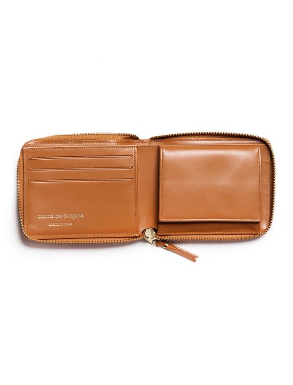 Comme des Garcons Luxury Group Full Zip Wallet - Beige