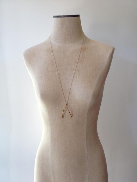 VERAMEAT Wishbone Necklace