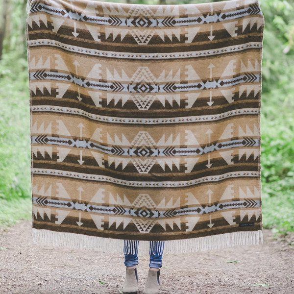 Sackcloth and Ashes Arrow Mexican Blanket
