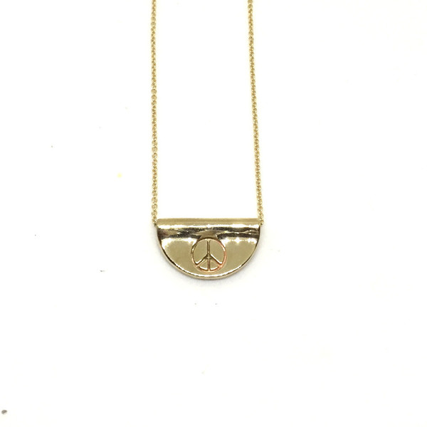 Balsam & Vine Peace Man Necklace