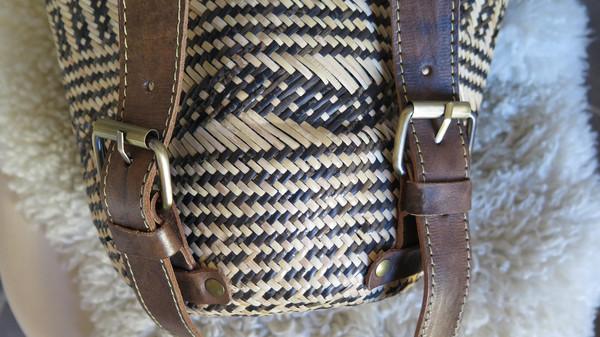 Wawaha Woven Backpack