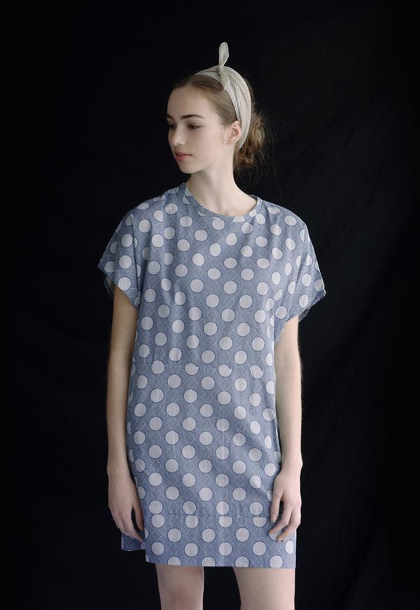 Vestige Story Huckleberry Print Dress