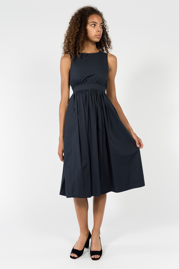 Objects Without Meaning Button Back Dress