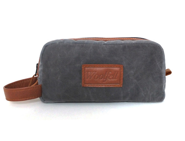 Wolfed Travel Case Grey and Brown