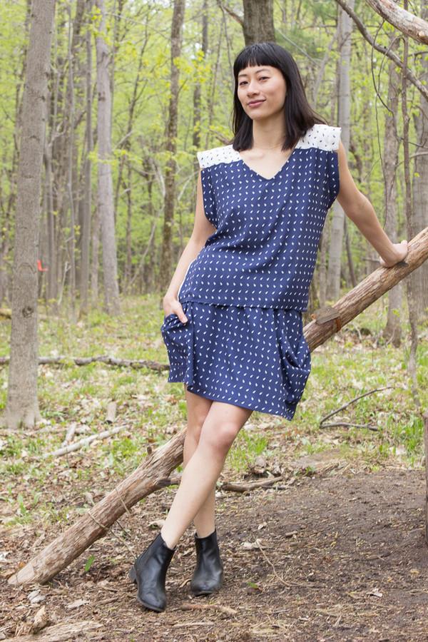 Eve Gravel Pomegranite Skirt