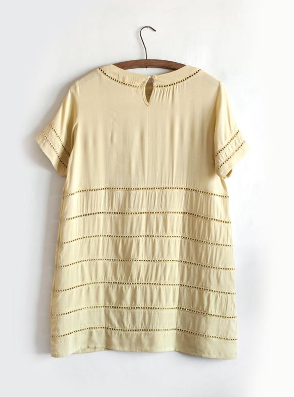 Lilya Ada Dress - Chartruse