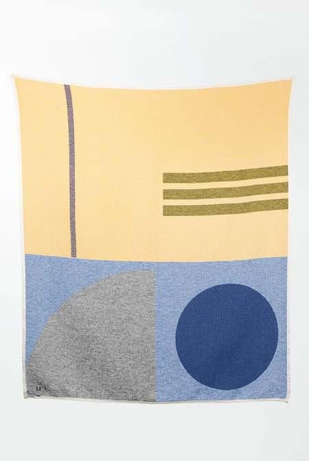 ZigZag Zurich Bauhaused 5 Cotton Blanket
