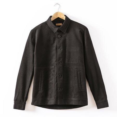 Basus Skin Overshirt - Black