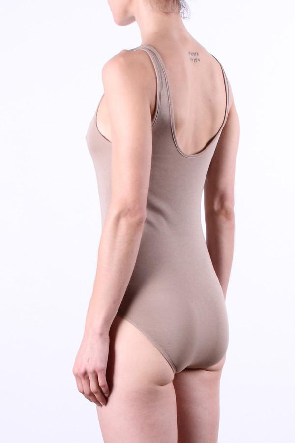 Bianca Bodysuit in Sand