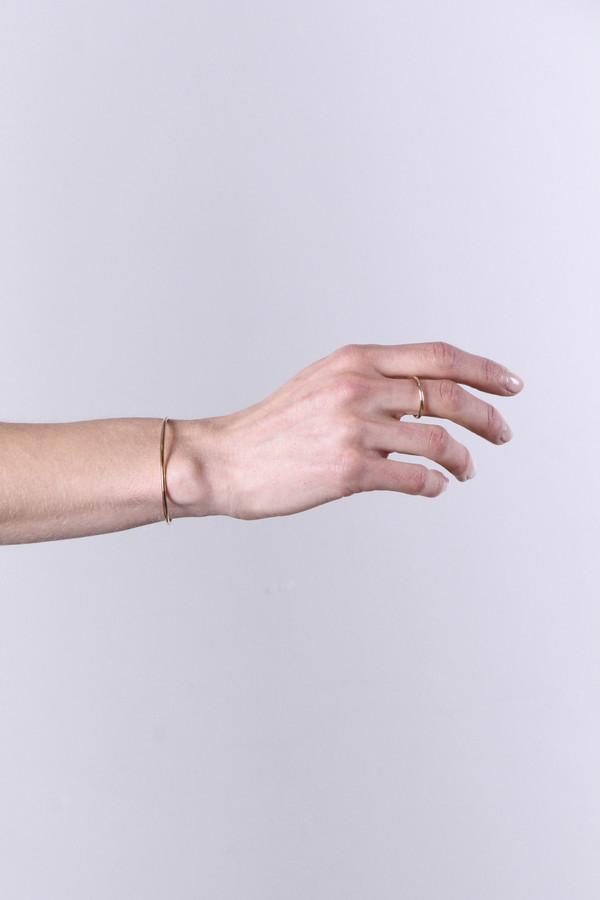 Gabriela Artigas - 14k Yellow Gold Filled Cuff & Ring