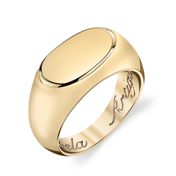 Gabriela Artigas - 14k Yellow Gold Signet Ring