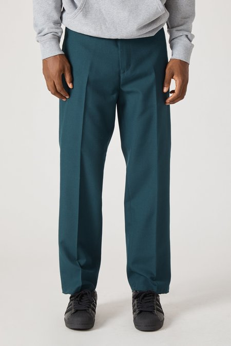 PRESIDENTS Dickens Easy Iron Wool Trouser - Petrol