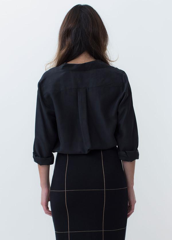 Whyred Karolina Washed Silk Shirt