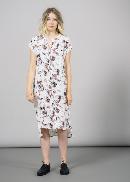 Just Female New Marble Button Down Dress