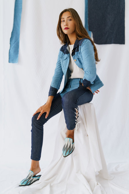 SIZ Perito Moreno Jacket - Blue