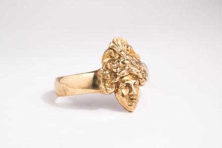 Saint Claude x Freda Ladyface Cuff Bracelet - Brass
