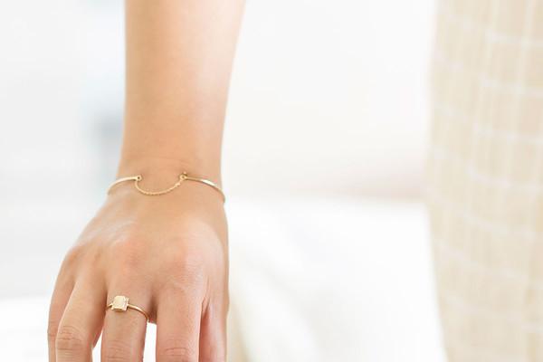Jennie Kwon Designs Waif Chain Cuff