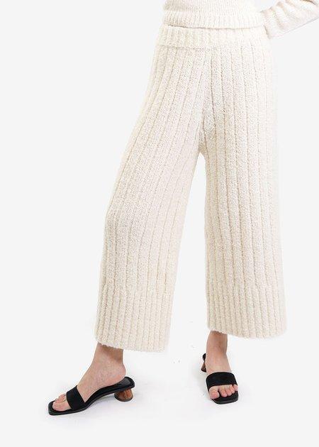 Kordal Rowan Knit Trouser in Cream