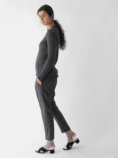 hazel brown skinny trouser - grey