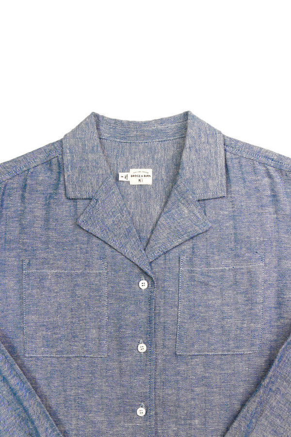 Bridge & Burn Cunningham Herringbone Chambray
