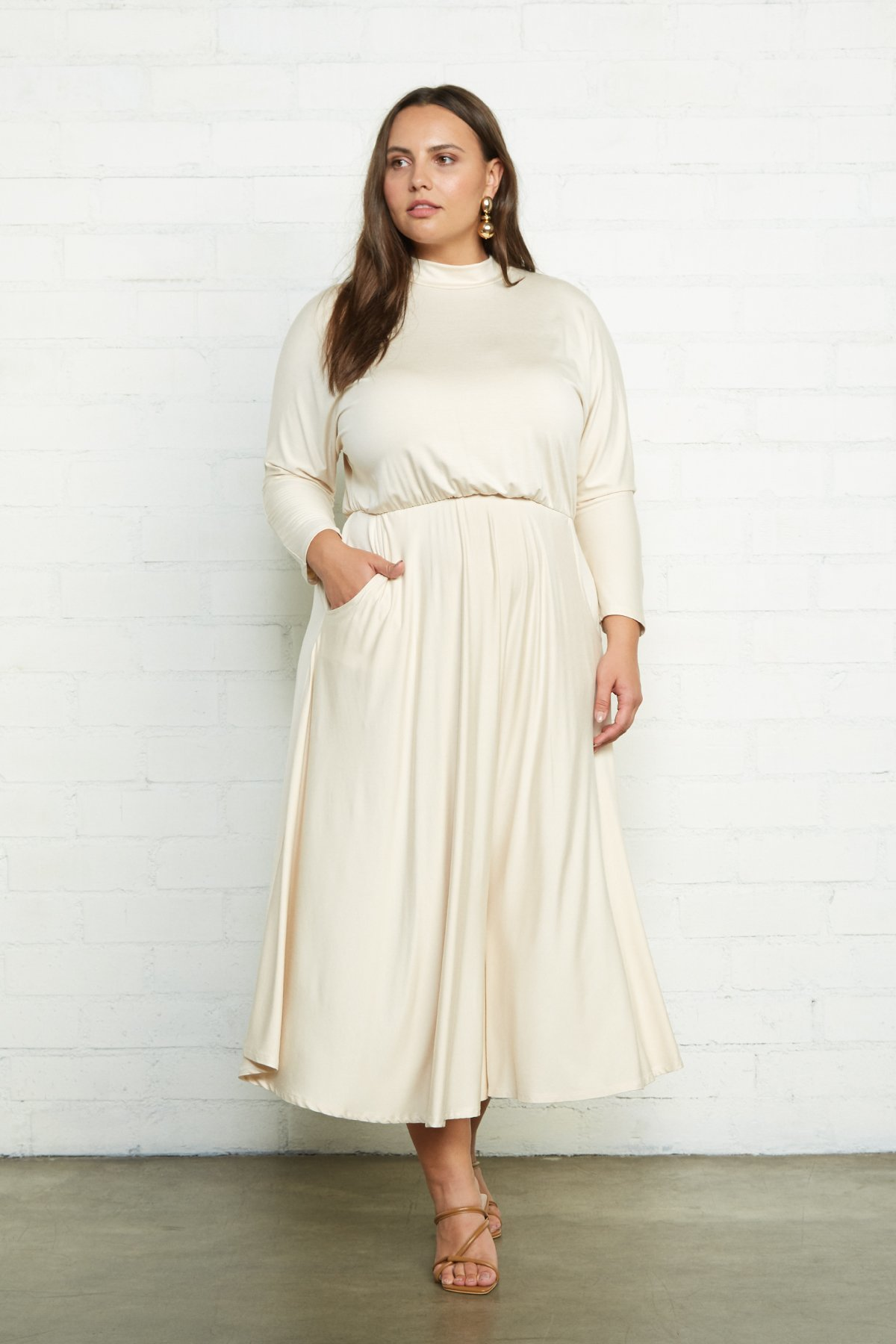 Rachel Pally Plus Size Constance Dress - Cream