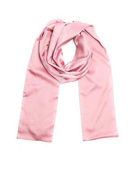 Undercover Silk Scarf - Pink