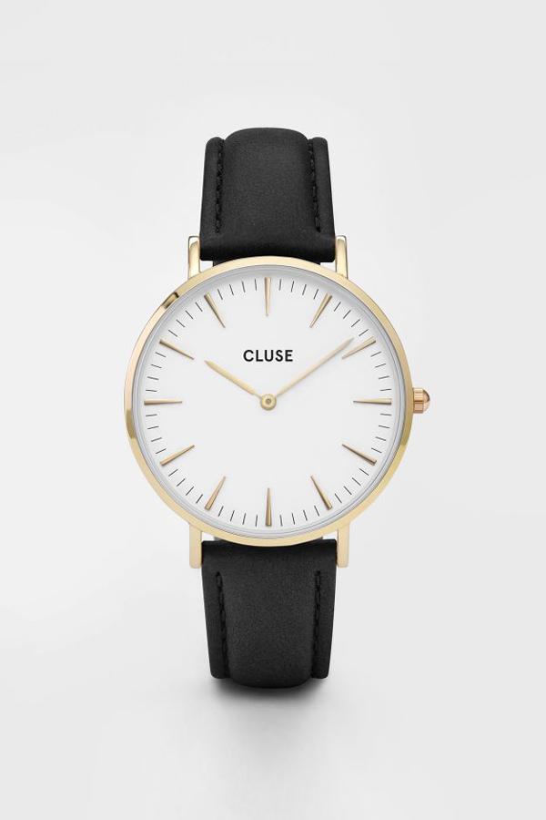 CLUSE WATCH La Boheme Gold White/Black