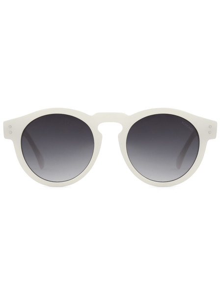 Komono Clement Sunglasses Milky White
