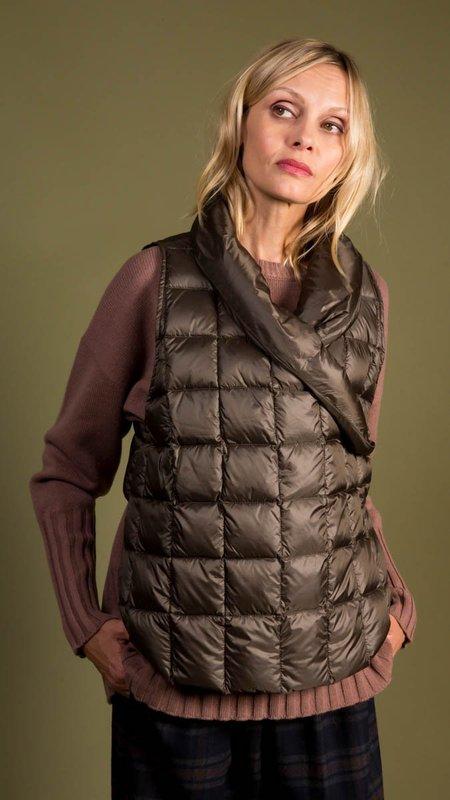 Psophia Down Wrap Vest - Deep Olive