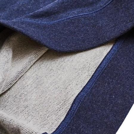 Corridor Loopback Sweatshirt - Navy Melange