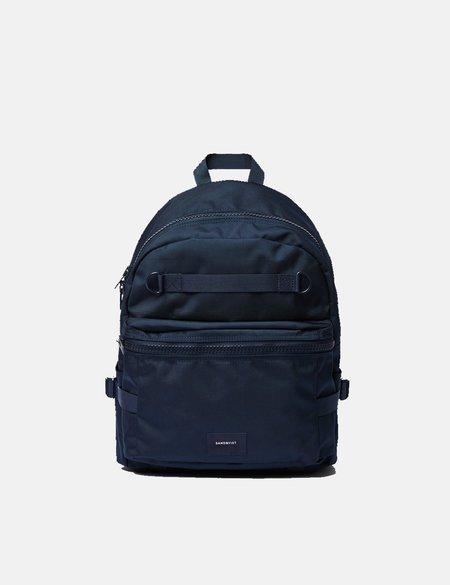 Sandqvist Elton Backpack - Navy Blue