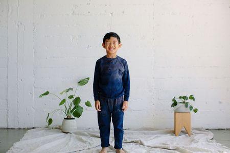kids Little Moon Society Zuma Pant - Cobalt