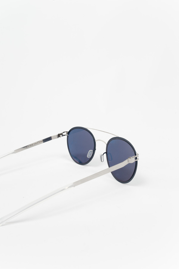 MYKITA Buster Sunglasses Silver/Night Sky