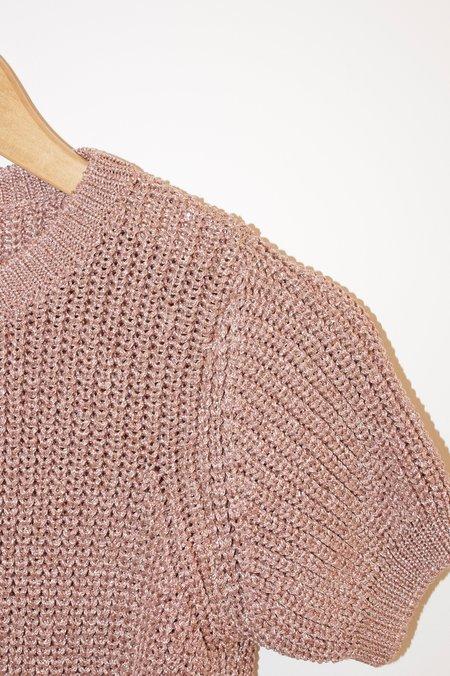 A.P.C. Audrey Shortsleeve Knit - Rose
