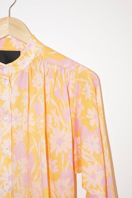 No.6 Quinn Blouse - Apricot Meadow