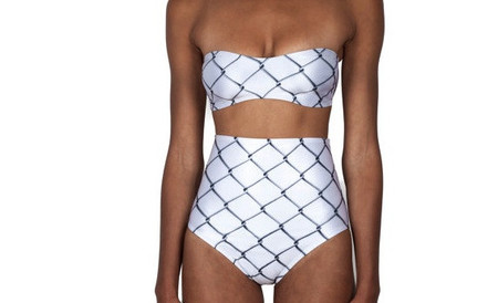 Minnow Bathers Walker Bandeau (Chain Link)