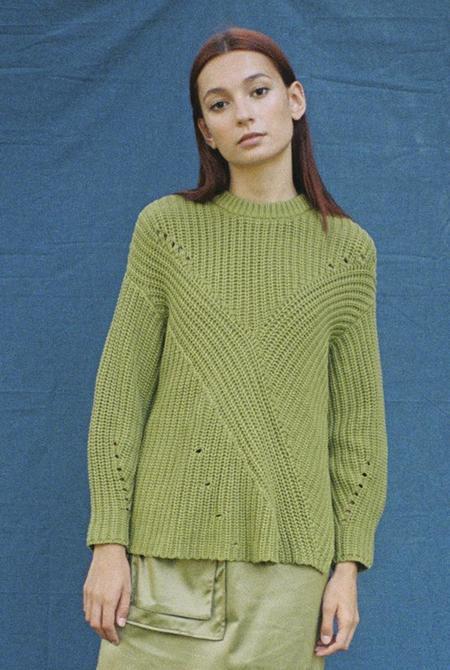 Solosix Thea Sweater - Cactus
