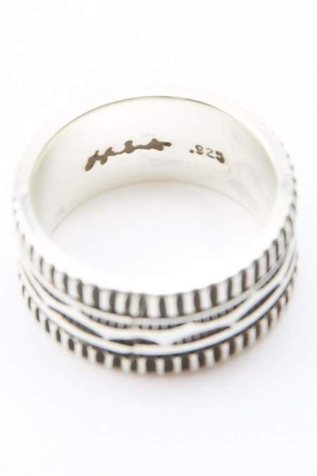 Lyle Secatero Endurance & Tranquility Ring - Silver