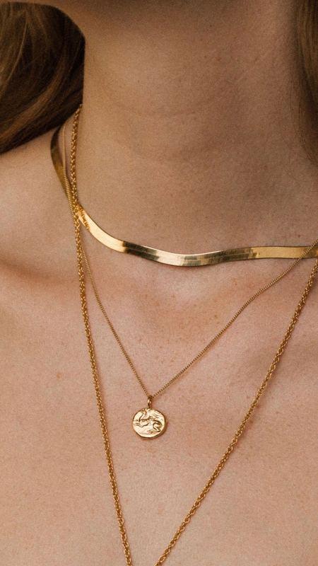Pamela Card Heavenly Flight Medallion Necklace - gold