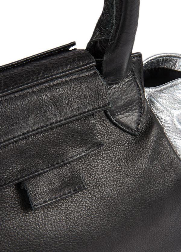 Collina Strada - Sarto Duo Bag in Black and Silver