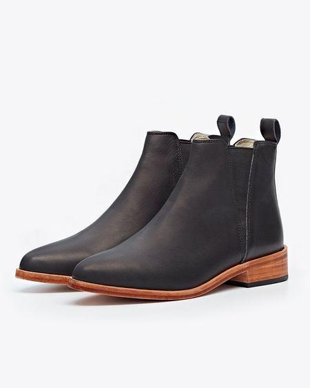 Nisolo Chelsea Boot - Black