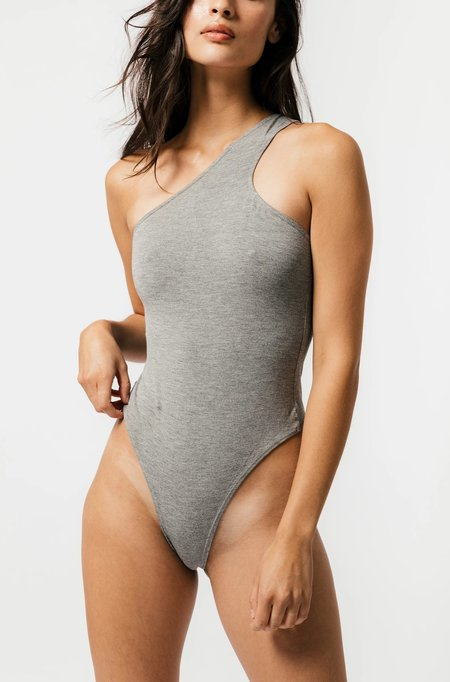 Mary Young Del Bodysuit - Grey
