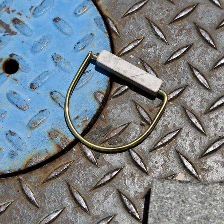Formina Limestone Hinge Bracelet