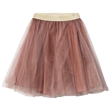 kids marmar copenhagen solo ballerina skirt - rose nut