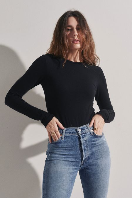 Re/Done Long Sleeve Bodysuit