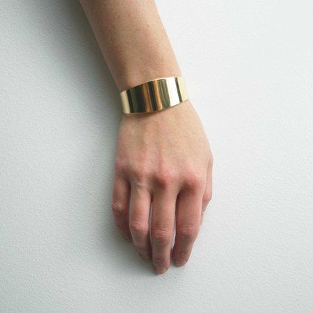 Mesa Paradox Cuff Bracelet - Brass