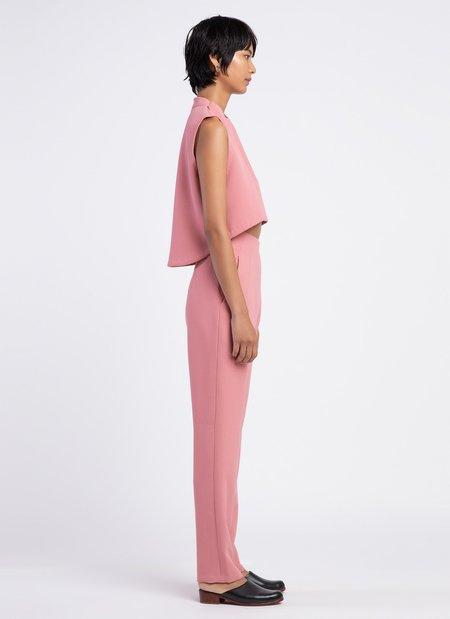 KAAREM Sam High-Waisted Pocket Pant - Sunset Pink