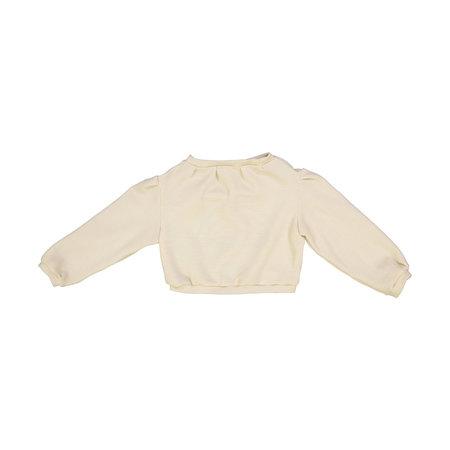 Kids Petit Mioche Custom Embroidered Merino Wool Sweater