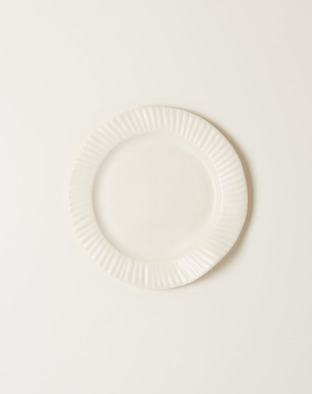 Sin Large Paper Plate - Matte White