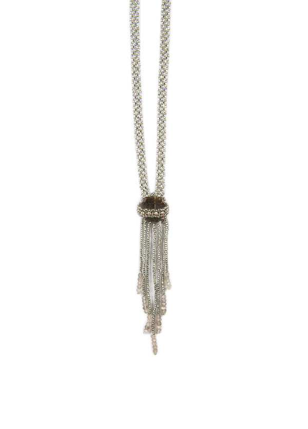 Evoke The Spirit - Crystal Beaded Spirit Necklace (More Colors)